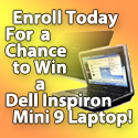 Enroll in CU*EasyPay Today For A Chance to Win a Dell Inspiron Mini 9 Laptop!