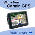 Give us your email address and enter to win a garmin gps
